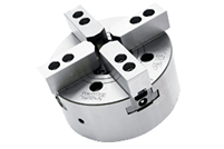 MHF Mega Bore 4-Jaw High-Speed Open-Center Chuck