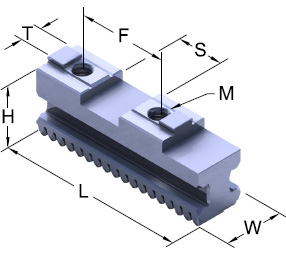 Metric TG Base Jaw